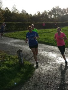 Me & Royanna (courtesy of parkrun)